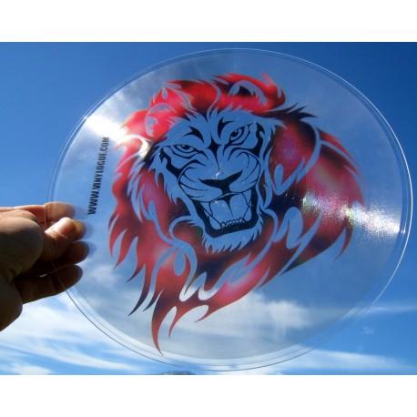 Vinyl Imprimé Transparent UNE seule face gravée